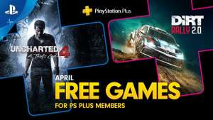 PlayStation Plus Aprile 2020 - Uncharted 4 / Dirt Rally 2.0