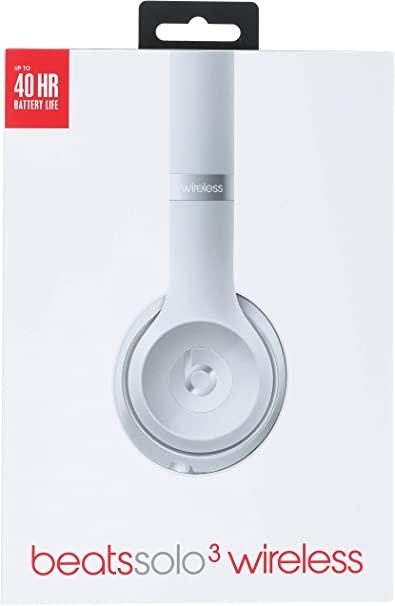 Apple Beats Solo3 Wireless auricolare per telefono cellulare Stereofonico Padiglione auricolare Argento