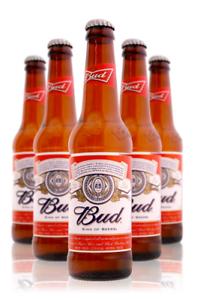 24x - Birra Budweiser 0.33 Lt. - Confezione da 24 Bottiglie