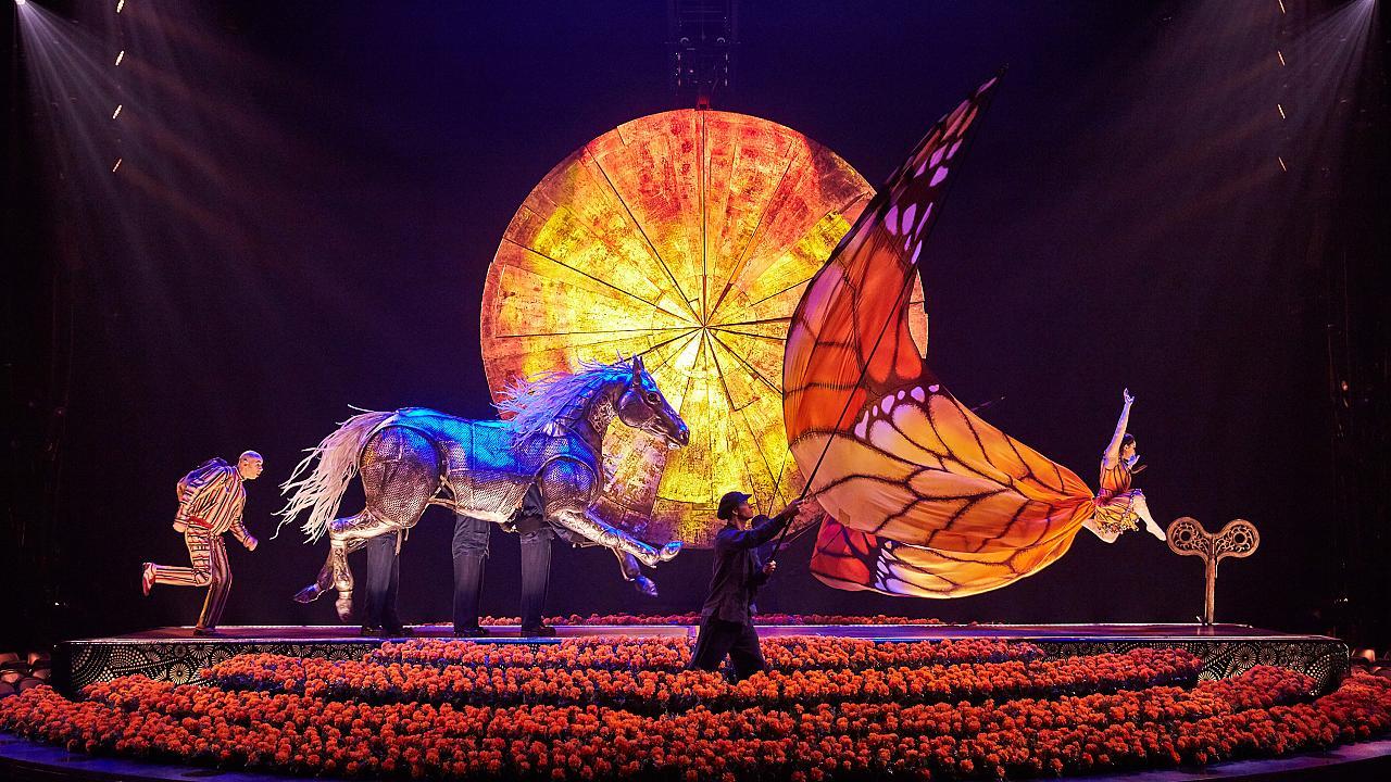 Spettacolo Cirque Du Soleil GRATIS