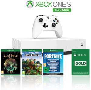 Xbox One S 1TB All Digital Edition Console + 3 giochi