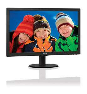 "Monitor Philips 21,5"" V-line 243v5qhsba - smart control"