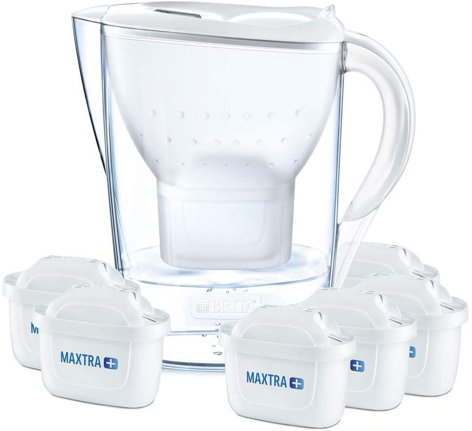 filtrante per Acqua + 6 cartucce incluse BRITA