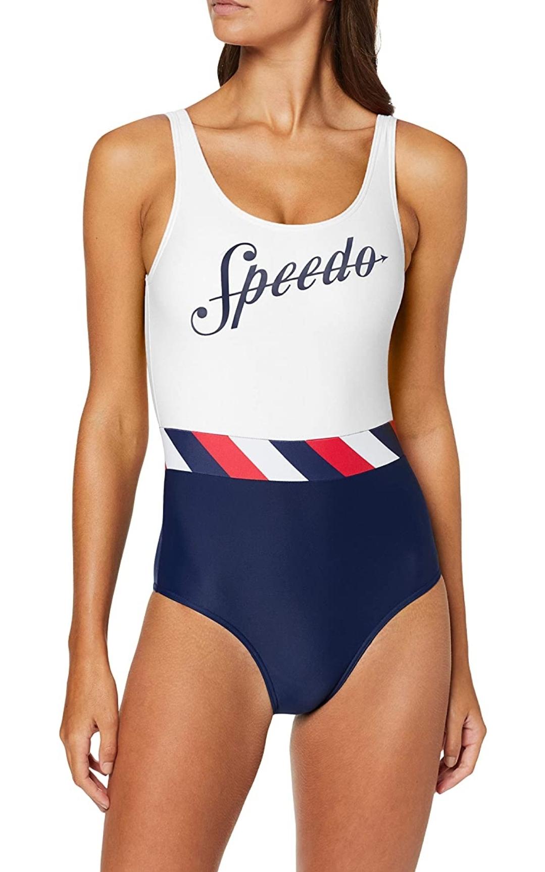 Speedo Shoreline U-Back Costume da Bagno Donna taglia 38