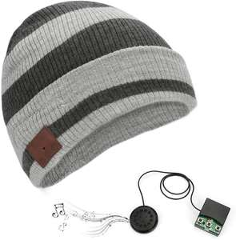 Berretto con Altoparlanti Bluetooth Integrati