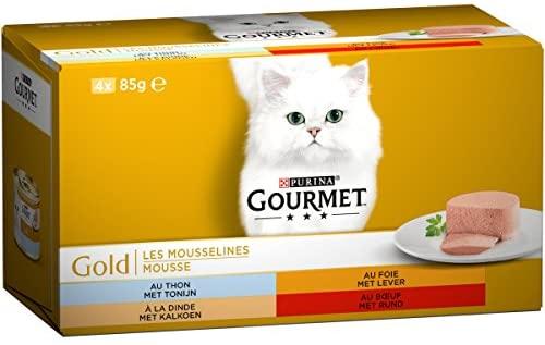 24x85gr Gourmet Gold I mousselines pasto per Gatto