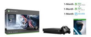 XBOX ONE X Star Wars Jedi Fallen Order Bundle