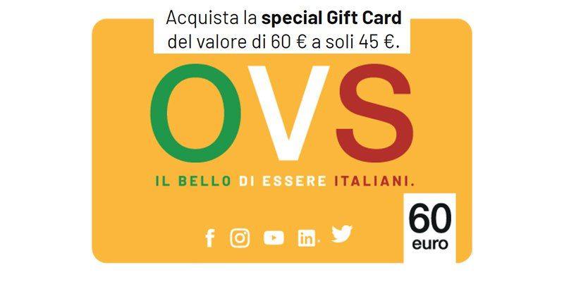 OVS - Gift Card da 60€
