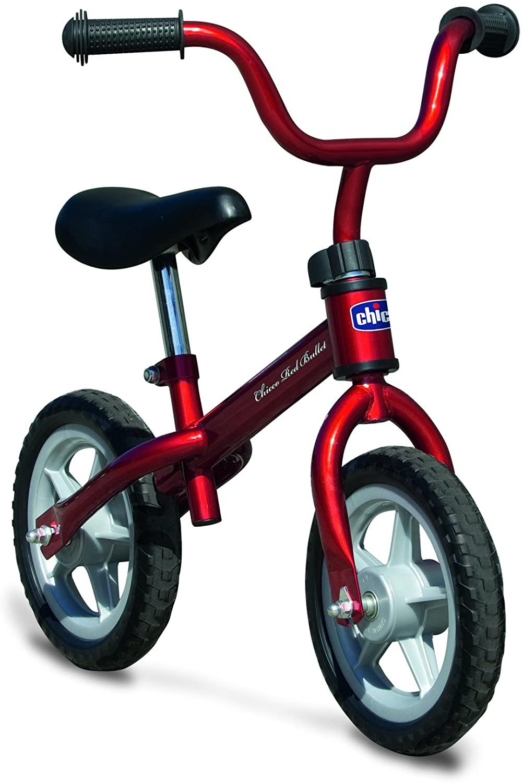 Chicco - Prima Bicicletta, 2-5 anni, portata massima 25 kg, Rosso