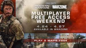 Call of Duty Modern Warfare Gratis Dal 24/04 al 27/04