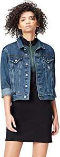 Giacca di Jeans Donna | Marchio Amazon - find.