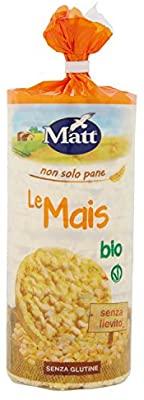 Gallette di Riso senza glutine - Matt Le Mais Bio - 130 gr