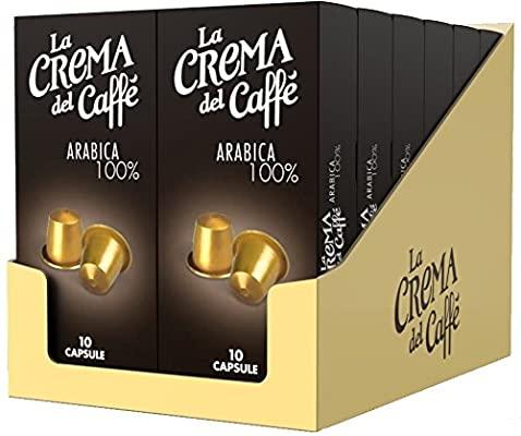 120 capsule Nespresso La Crema del Caffè - Arabica 100%