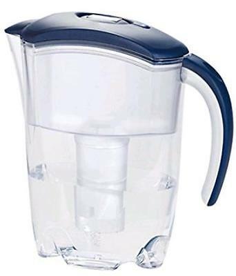 CARAFFA FILTRANTE Depuratrice d'acqua + 1 Filtro 2,4lt