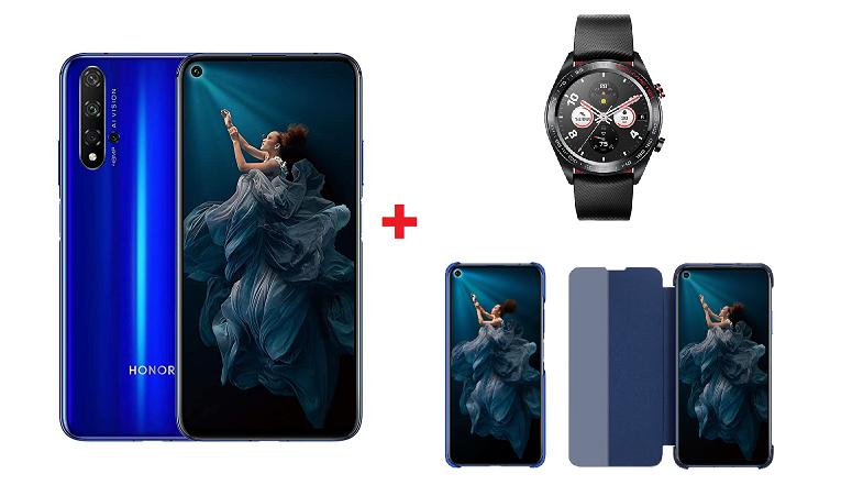Honor 20 + Smartwatch e 2 Cover 309€