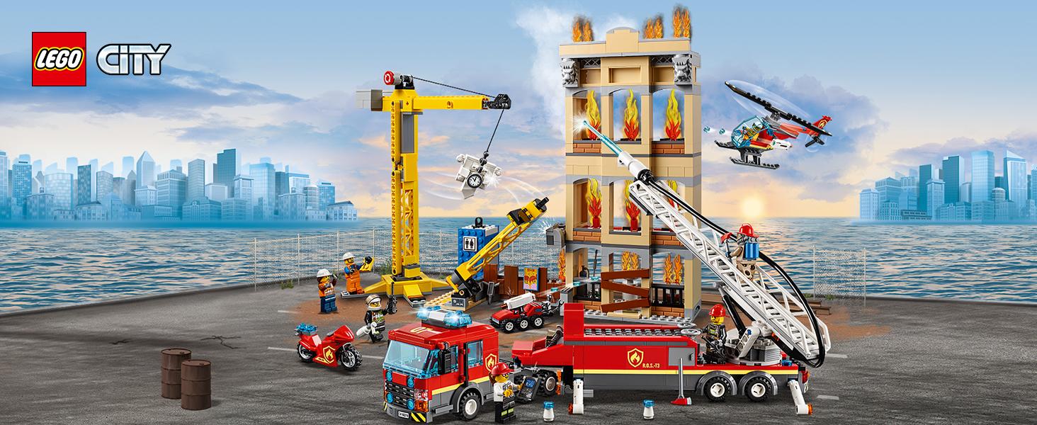 LEGO City Fire Missione Antincendio in Città