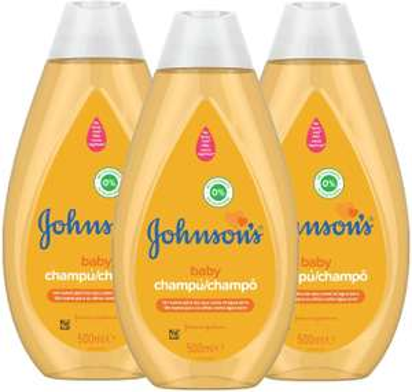 Johnson's Baby, Shampoo, 3 x 500 ml