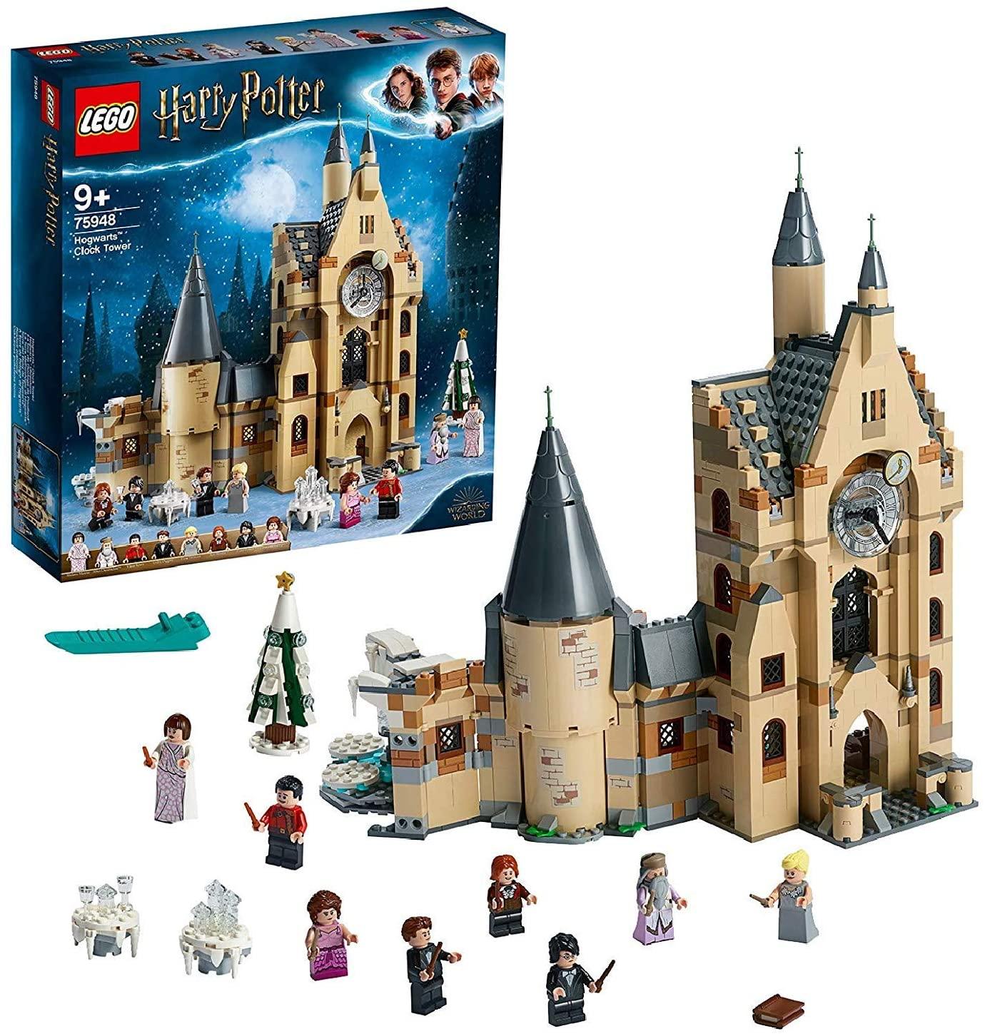 LEGO- Harry Potter La Torre dell'Orologio di Hogwarts