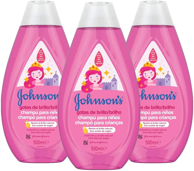 Johnson's Baby shampoo (3 pezzi)