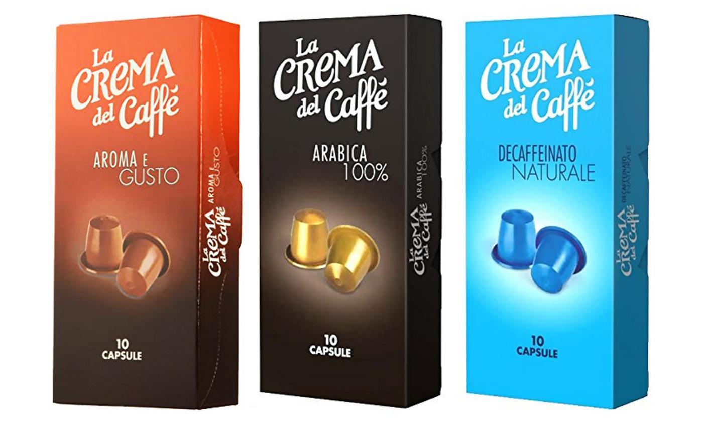 La Crema Del Caffè (Pellini) 120 capsule in 2 Aromi [Nespresso]