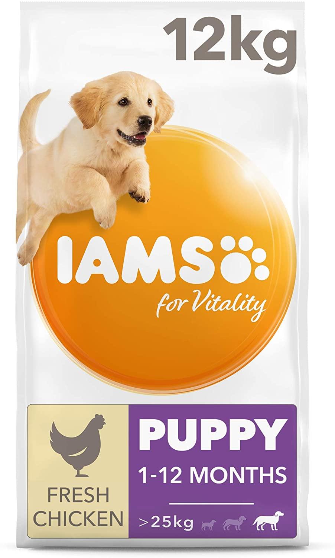 Iams for Vitality - alimento secco per cuccioli di taglia grande - 12 kg