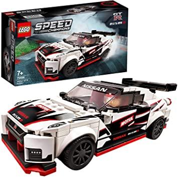 LEGO Speed Champions Nissan GTR Nismo + Minifigure pilota