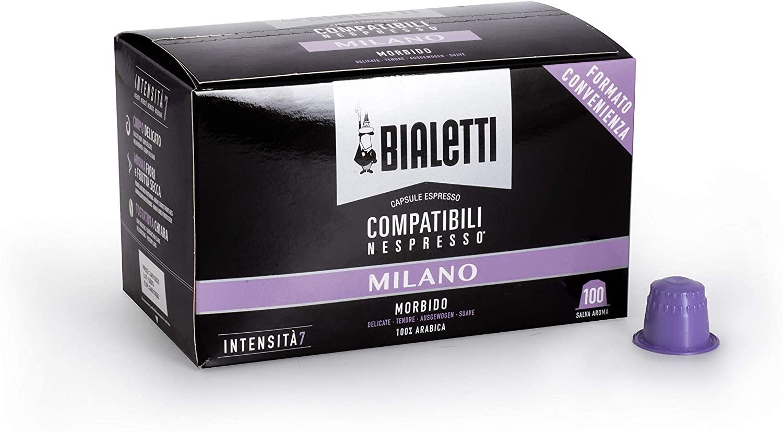 Bialetti Milano X100 Compatibili Nespresso 13.9€