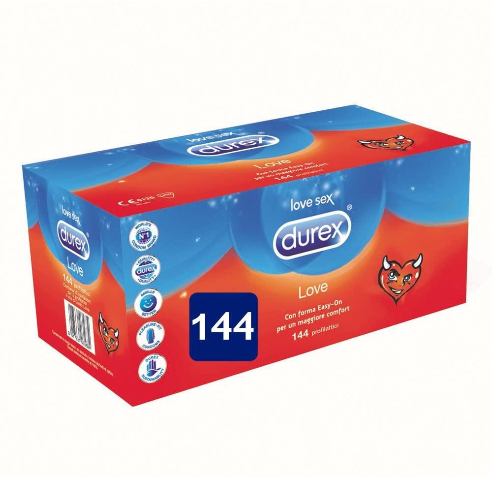 Durex Love - 144 Preservativi