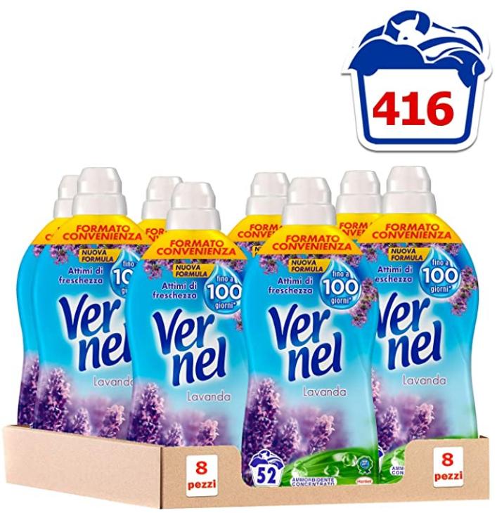 Ammorbidente Vernel 416 Lavaggi - Lavanda