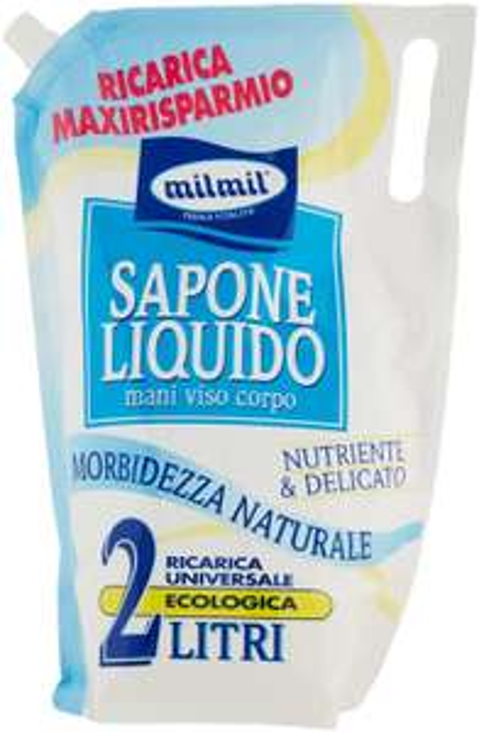 Mil Mil Sapone Ricarica - 2000 ml