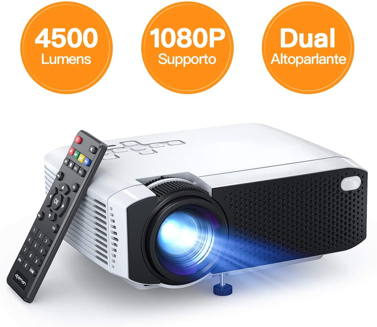 Mini Proiettore 4000Lm