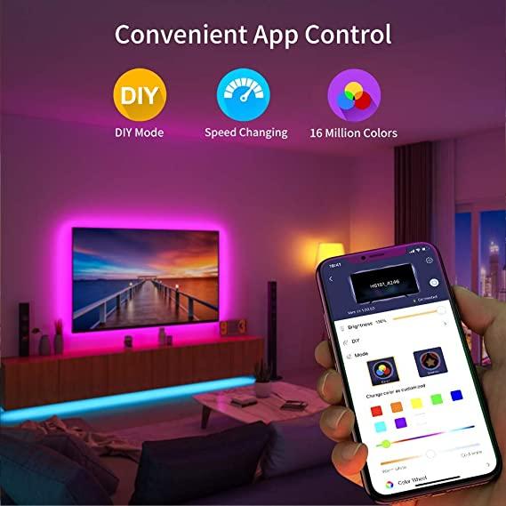 Retroilluminazione TV LED con App