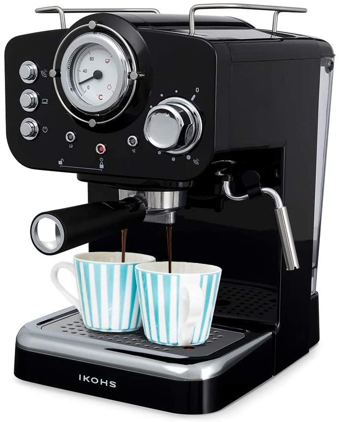 Macchina del Caffè 1100 W 15 bar vaporizzatore regolabile