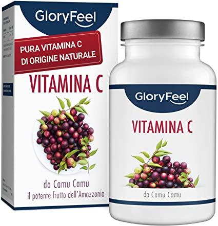 120 capsule di Vitamina C da Camu Camu