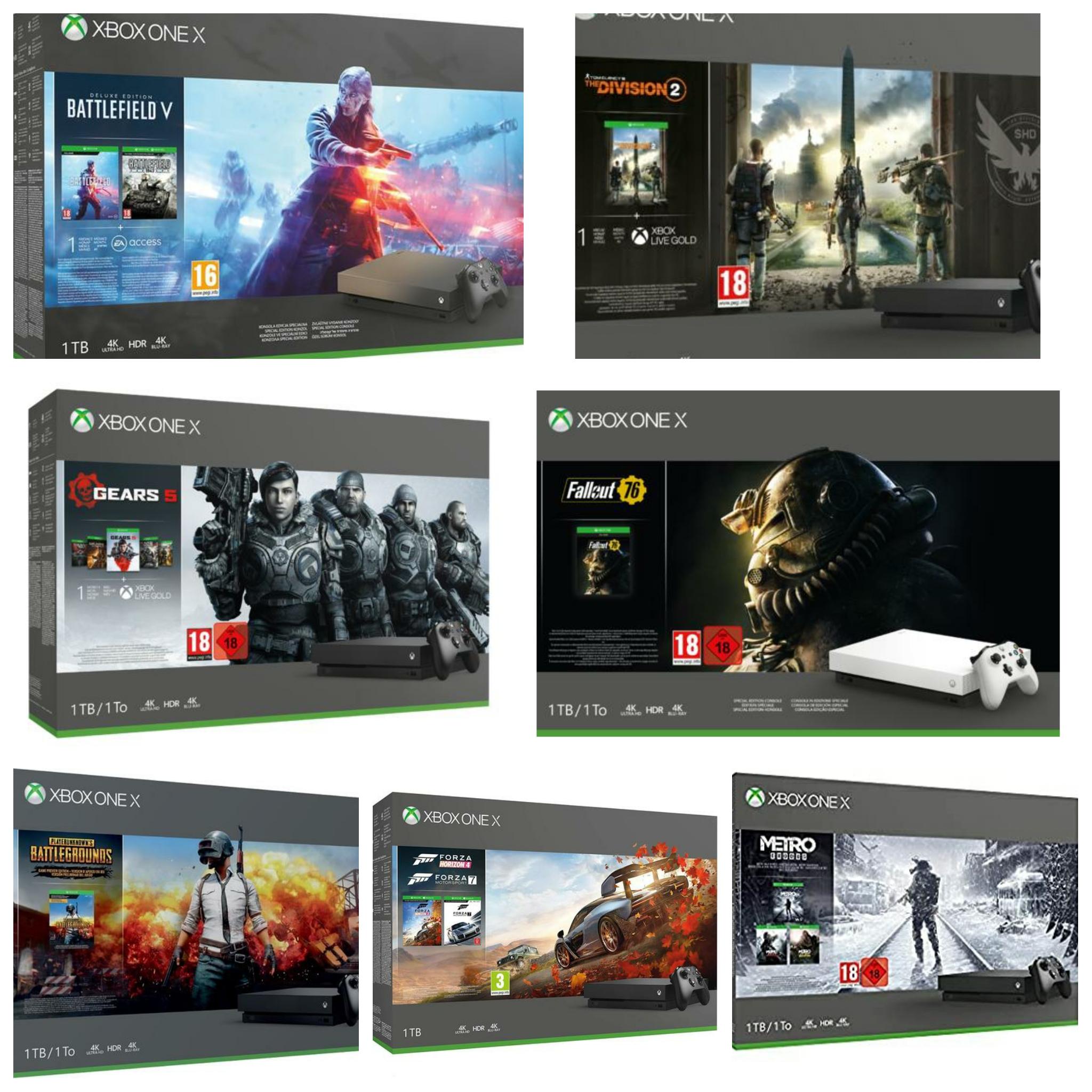 Xbox X 1tb Diverse Configurazioni