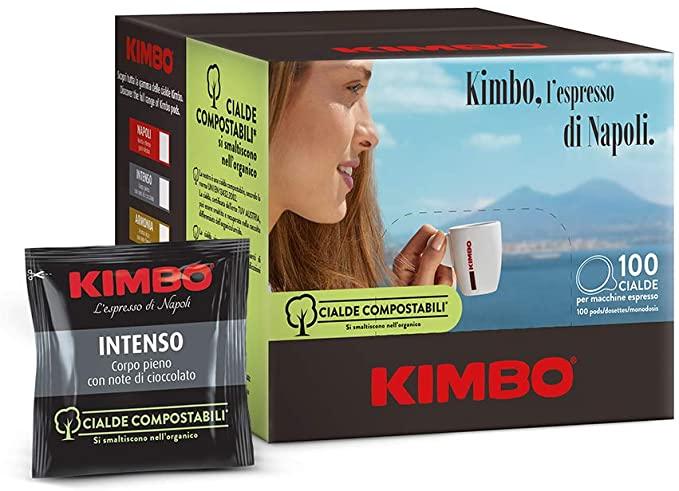 100 cialde caffè Kimbo Intenso