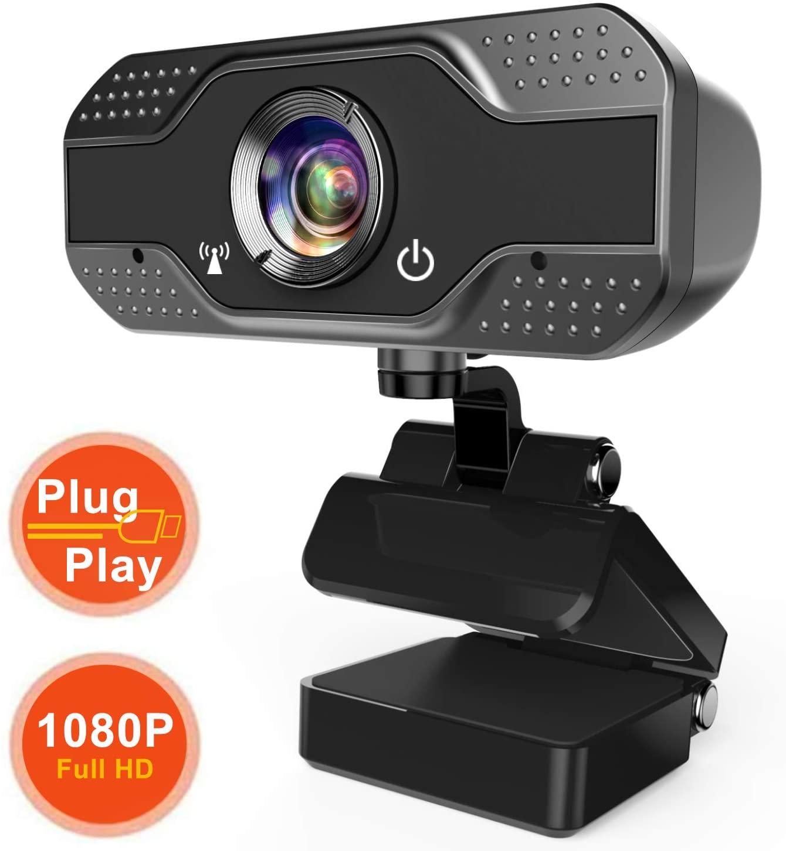 ANWIKE Webcam HD 1080P con Microfono,