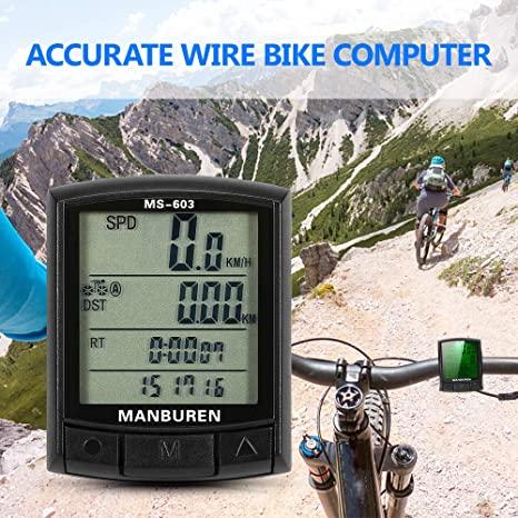 Tachimetro Contachilometri Bici Cablato