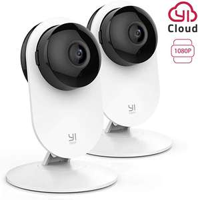 2x Home camera security YI full hd