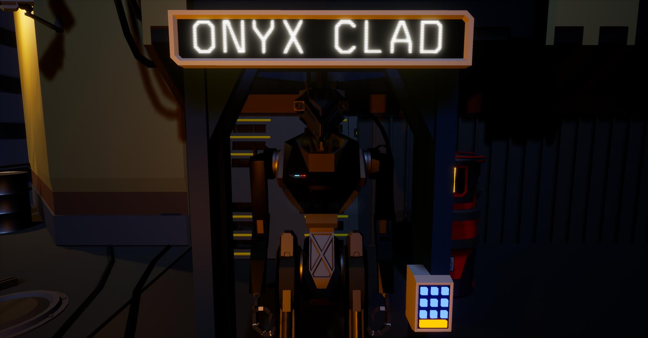 Itch.io PC Game Gratis: ONYX CLAD