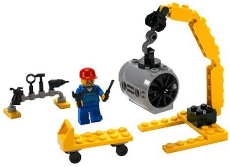 Lego City 7901 Meccanico aeronautico