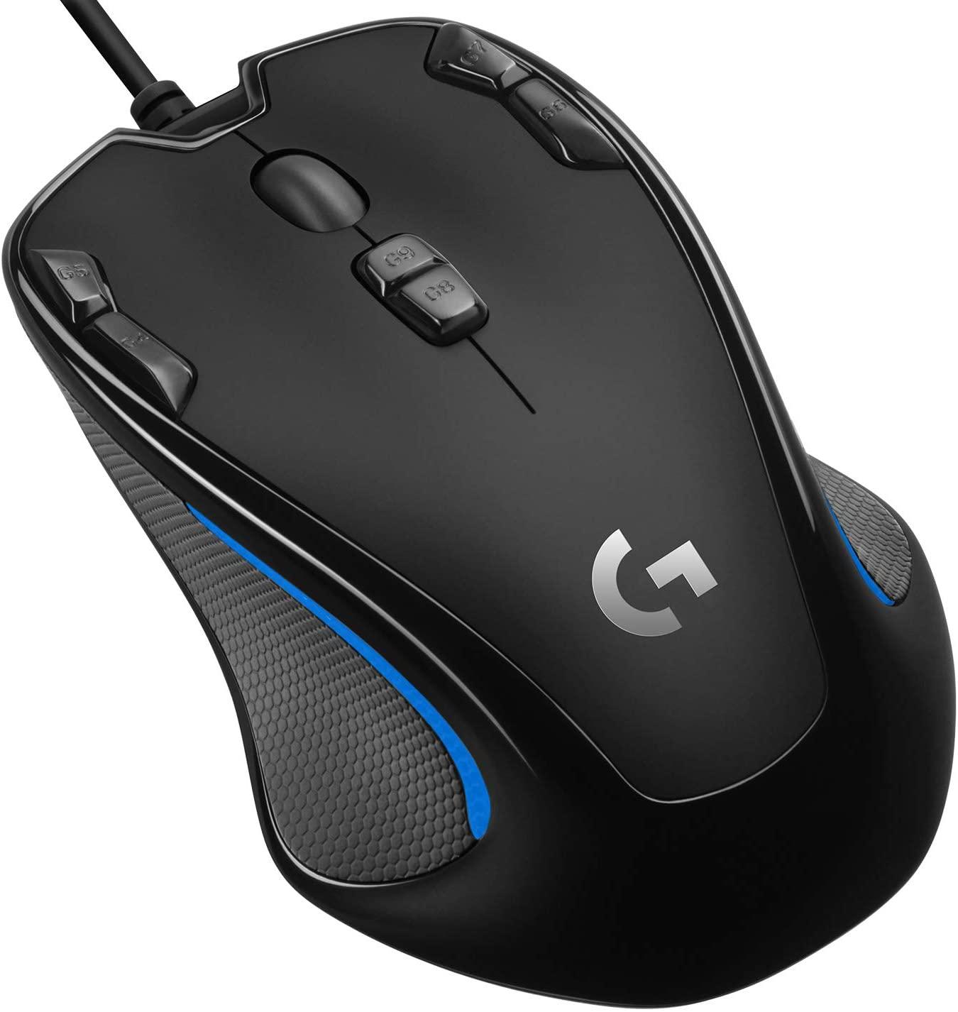 Mouse Logitech G300s RGB-2500 DPI 23.8€