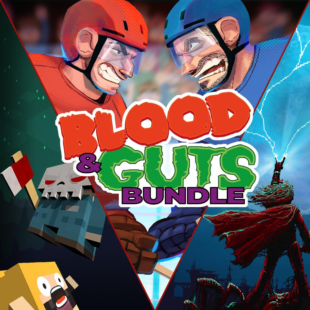 Blood and Guts Bundle (3 Giochi : Slain: Back From Hell ,Slayaway Camp: Butcher's Cut,Super Blood Hockey) (Nintendo Switch) - Nintendo Eshop
