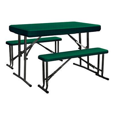 Set Birreria richiudibile tavolo + 2 panche