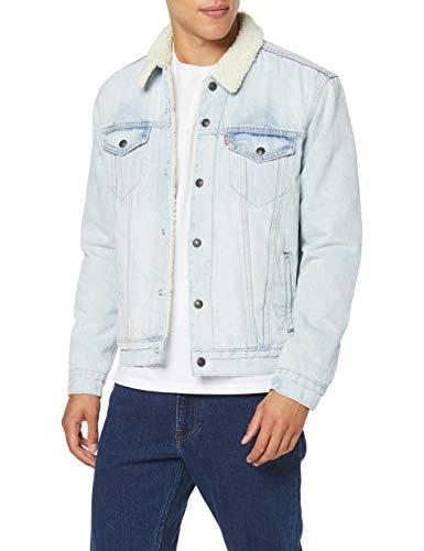 Levi's - Giacca di Jeans Sherpa Uomo TG XL XXL