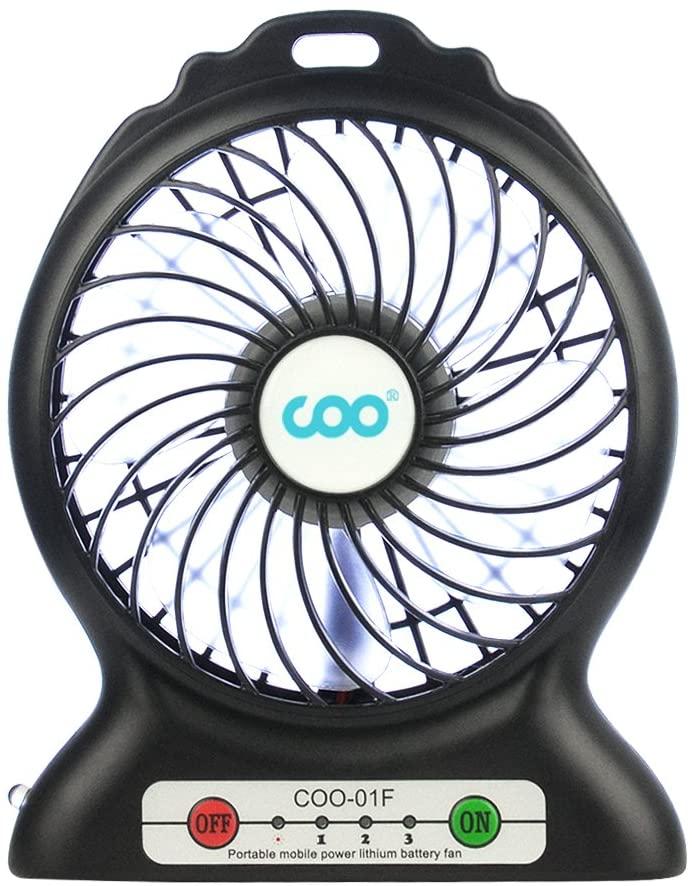 Mini Ventilatore da Tavolo - 2200mAh 7.6€