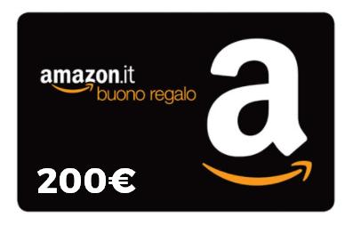 Concorso: Vinci un Buono Amazon da 200€