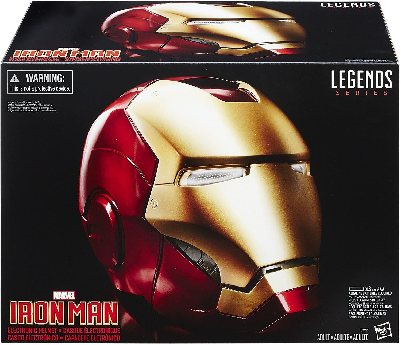 Casco Elettronico Iron man - Zavvi