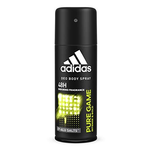 6x150ml Adidas Pure Game Deos Body Spray da uomo