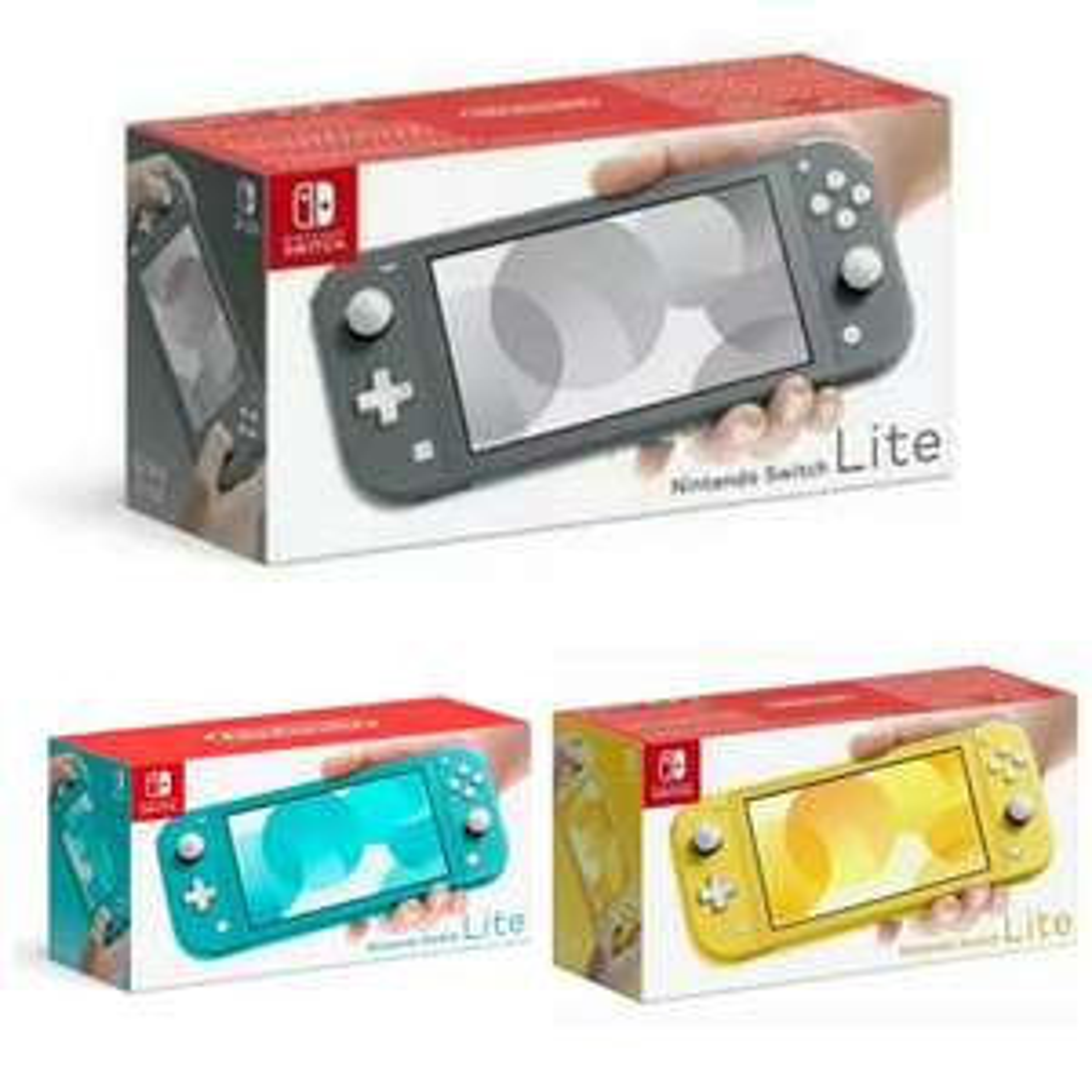Nintendo Switch Lite: Grigia, Gialla, Turchese